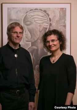 Giulio Tononi and Chiara Cirelli. Credit: John Maniaci/UW Health