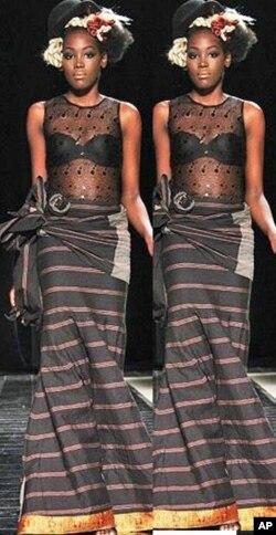 Criações da estilista angolana Nadir Tati