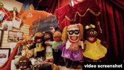 """華盛頓唯一的木偶商店""""木偶天堂"""" (視頻截圖)"""