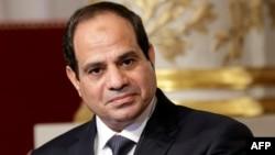 هنوز عبدالفتاح السیسی، رئیس جمهوری مصر