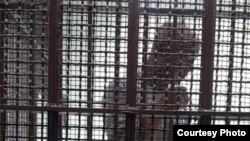 泰国囚车里的中国政治流亡者杨崇