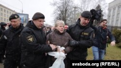 Задержания в Минске (25 марта 2017 г.)