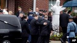 Похороны Шона Коллиера. Бостон, Массачусетс. 23 апреля 2013 года