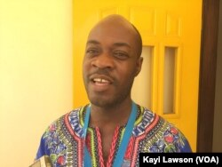 Atsou Eklou, à Lomé, au Togo, le 18 mars 2018. (VOA/Kayi Lawson)
