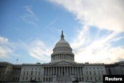 미국 워싱턴의 의회 건물. (자료사진)