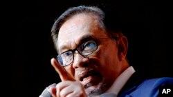 မေလးရွား အတိုက္အခံေခါင္းေဆာင္ Anwar Ibrahim