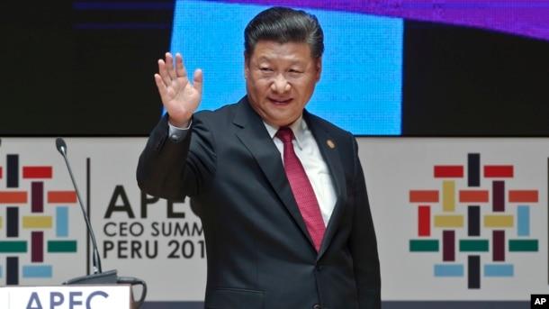 Chủ tịch Trung Quốc Tập Cận Bình tại Peru hôm 19/11.