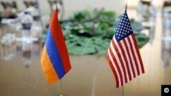 Armenian US Flags