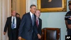 Predsednik Barak Obama u američkom Kongresu, 10.septembar 2013