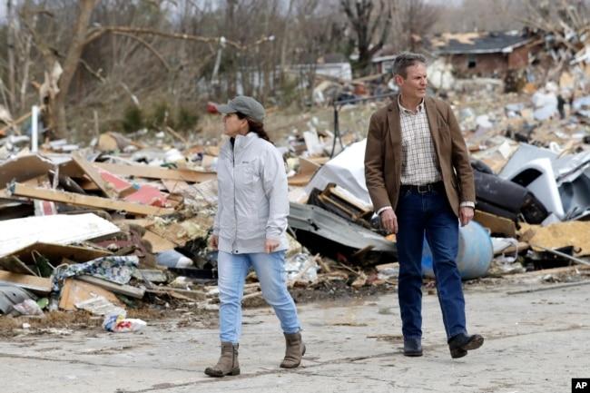 Руйнівні торнадо реєстрували в Теннессі навесні 2020 року