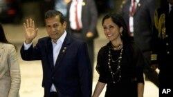El ex presidente de Perú Ollanta Humala y su esposa son acusados de usar en beneficio personal donaciones de campaña ilegales.