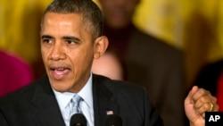 Presiden AS Barack Obama mengatakan akan ada beberapa langkah mendesak yang harus kita ambil untuk membantu situasi kemanusiaan di Suriah.