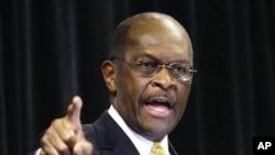 Herman Cain à Dayton, dans l'Ohio, en novembre 2011.