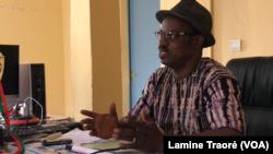 Boubacar Cissé, 2e adjoint au maire de Dori, le 7 octobre 2019. (VOA/Lamine Traoré)