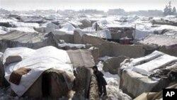 Tenda Pengungsi Afghanistan (Foto: dok). Data UNHCR menunjukkan warga Afghanistan sebanagi pencari suaka terbanyak tahun 2011.