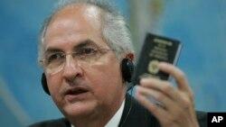 Antonio Ledezma, alcalde de Caracas, dice estar dispuesto al diálogo, pero con condiciones.
