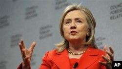 Hillary Clinton oo ka Walaacsan Somalia