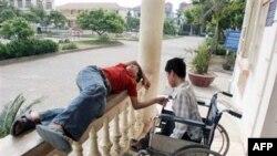 Trẻ em bị ảnh hưởng bởi hóa chất da cam tại Việt nam