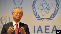 국제원자력기구(IAEA) 아마노 유키야 사무총장. (자료사진)