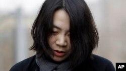 2014年12月12日大韩航空前负责人赵贤娥