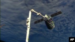 ႏိုင္ငံတကာအာကာသစခန္းမွ အာကာသယာဥ္လႊတ္တင္မည့္ Cygnus အာကာသယာဥ္။
