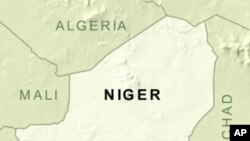 Ramani ya Niger