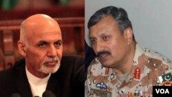 در هشت ماه گذشته رهبران ارشد ارتش و استخبارات پاکستان چندین بار به کابل آمده اند