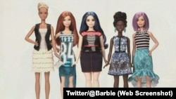 The manufacturer of the Barbie doll announced three new body types for the doll on January 28, 2016. They are tall, curvy and petite.