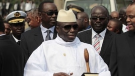 Gambian President Yahya Jammeh is pictured in this June 30, 2011 photo.
