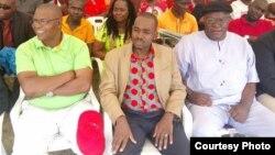 VaNelson Chamisa, vari pakati, vaina Professor Welshman Ncube naVaTendai Biti