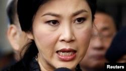 Thủ tướng Thái Lan Yingluck Shinawatra.