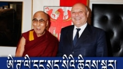 The Dalai Lama in South Tyrol and Switzerland