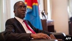 Augustin Matata Ponyo Mapon, Ministre wa yambo ya RDC, na Kinshasa, 13 avril 2015.