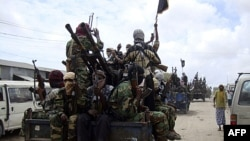 Chiến binh Al-Shabab tại Mogadishu, Somalia (ảnh tư liệu)