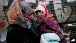 Migranti na granici Srbije i Makedonije
