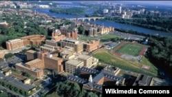 미국 워싱턴의 조지워싱턴대학. (자료사진)