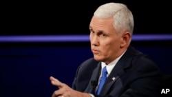 Indiana Gov. Mike Pence responds to Sen. Tim Kaine.