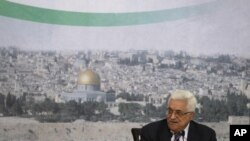 ປະທານາທິບໍດີປາແລສໄຕນ ທ່ານ Mahmoud Abbas