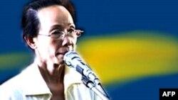Bà Phạm Thị Phượng, thành viên đảng Vì Dân có trụ sở tại Hoa Kỳ