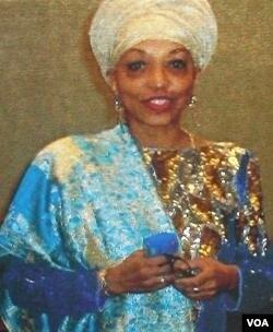 Zarinah Shakir, aktivis masjid Muhammad di Washington DC yang juga aktif di komunitas lintas agama.