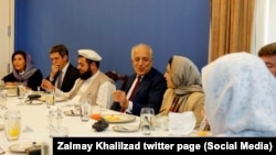 مذاکرات روز دوشنبه ۱۲ فروردین در کابل با حضور زلمی خلیلزاد