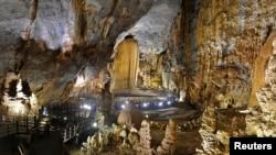 Động Thiên Đường nằm trong quần thể Phong Nha – Kẻ Bàng ở tỉnh Quảng Bình, Việt Nam.