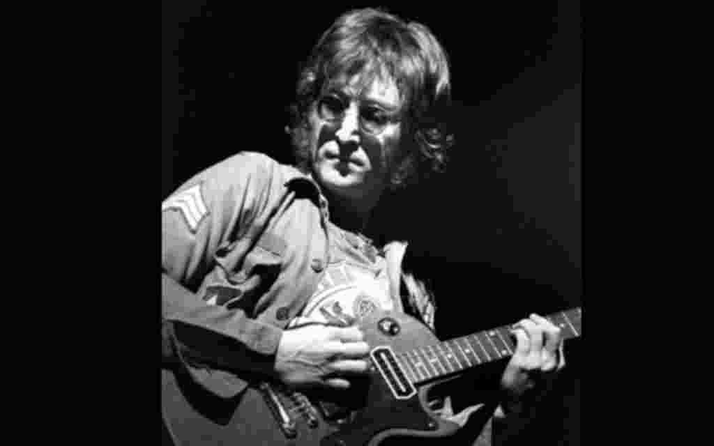 Actuación de John Lennon en Madison Square, Nueva York.