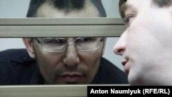 Заарештований правозахисник Емір-Усеїн Куку. м.Ростов, 31 січня 2018 року