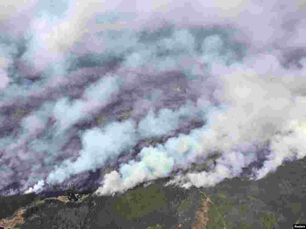 اطلاعات کے مطابق آتشزدگی کی لپیٹ میں آ کر 1600 عمارتیں تباہ ہو گئیں ہیں۔