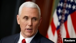 FILE - U.S. Vice President Mike Pence