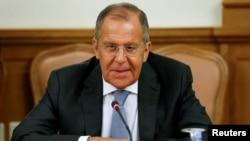 Menlu Rusia, Sergei Lavrov (foto: dok).