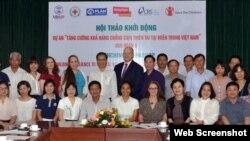 USAID hôm 28/9/2017 đã khởi động dự án Tăng cường Khả năng Chống chịu Thiên tai tại miền Trung Việt Nam giai đoạn II. (Ảnh: Đại sứ quán Hoa Kỳ tại Hà nội)