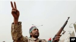 Libyan rebel fighter