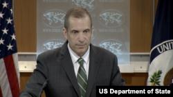 美國國務院副發言人托納(圖片來源:美國國務院)